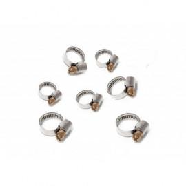 Colliers de serrage Serflex  x 8 (10-16, 12-22, 16-27, 25-40MM)