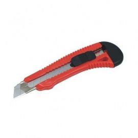 Cutter 18 mm - lame retractable - manche ergonomique