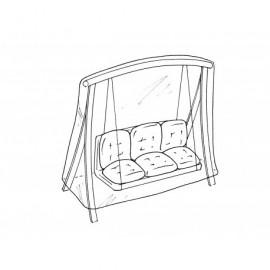 Housse de protection renforcee pour balancelle - 220x150x H160cm