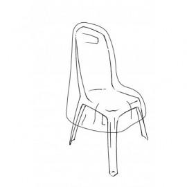 Housse de protection renforcee pour chaises - 70x70x H110cm