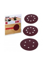 Disques abrasifs pour ponceuses - 5 disques