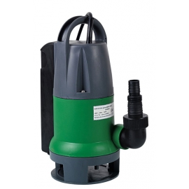 Pompe vide-cave eaux chargées 550w + flotteur intégré